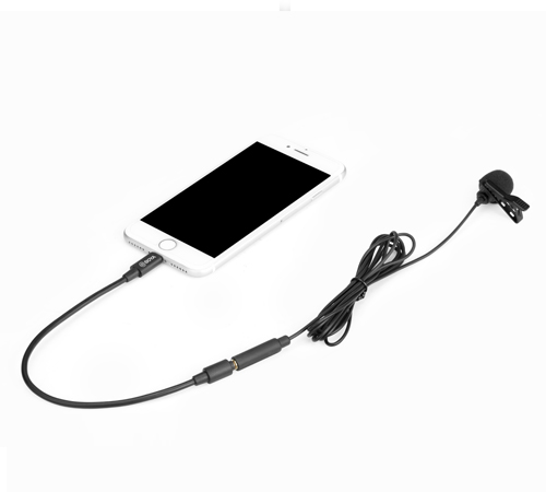 BOYA BY-M2 (Clip-on Lavalier Microphone for iOS devices)